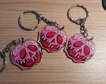 Poisoned Candy Apple - Keyring/Keycharm