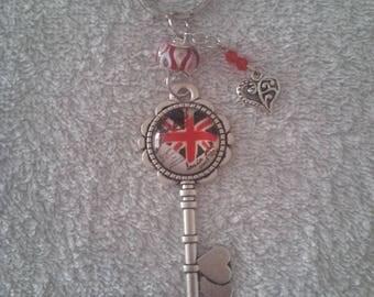 Keychain or handbag English