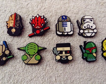 Lot 9 jibbitz Star wars (badges for fangs)