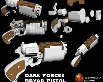 Star Wars Bryar Pistol 3D printed