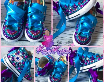 Custom character shoes. Pick your character and colors. HIGH TOP