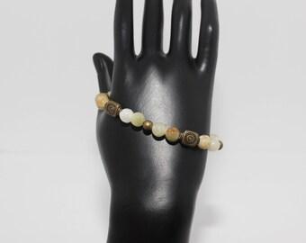 Genuine Natural Amber Bracelet & Earrings