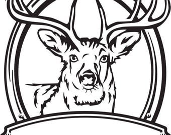 TROPHY BUCK SVG