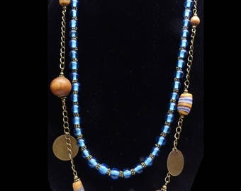 Necklace Hippie look ~ () ~ Nepal ~ () ~