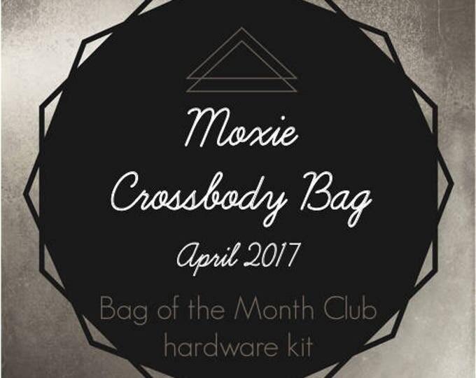 Moxie Crossbody Bag Hardware Kit - Bag of the Month Club - April 2017 Hardware Kit