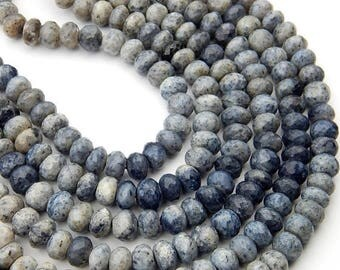 63% OFF Dendrite Opal Faceted Beads Rondelle Shape 9.5x9.mm Approx 100 PercentNatural Top quality New Arrival Wholesale Price.