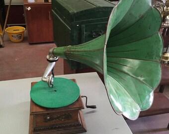 Original Columbia Graphophone Working - Early 1900