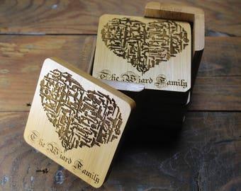 Personalized Gun Heart Coasters, Gun Heart, Firearms, Firearm Decor, Gun Coaster, Gun Lover Gifts, Gun Gifts For Men, Gun Art, 2nd Amendment
