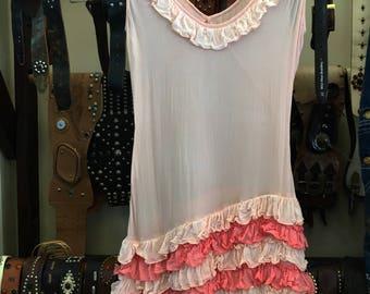 Lovely vintage chiffon dress