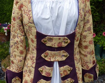Ladies Pirate Coat,Pirate Wench,Jack Sparrow, Captain Hook