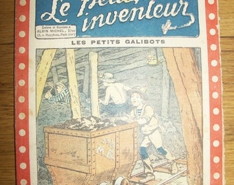 "Old magazines: ""The little inventor"" year 1923-1925"