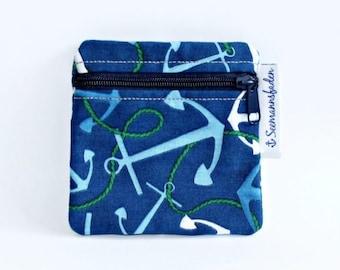"""Mini-bag """"anchor"""", green blue"""
