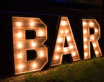 "60"" Lighted Marquee Letter 