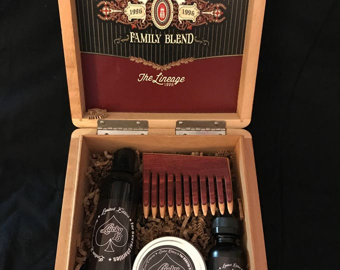 Lucky 13 Cigar Box Gift Set