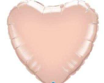 Rosegold Foil Heart Balloon