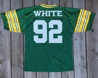 Logo Athletic Green Bay Packers Reggie White Jersey Size Medium