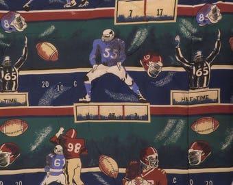 Vintage Football Twin comforter