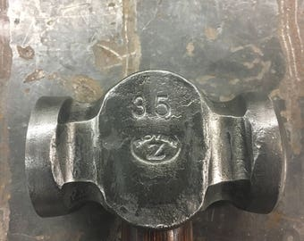 Blacksmith Rounding Hammer 3.5# (Hand Forged by ROYER)