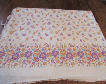 Vintage Floral Cotton Feedsack Feed Sack Small Flower Flowers
