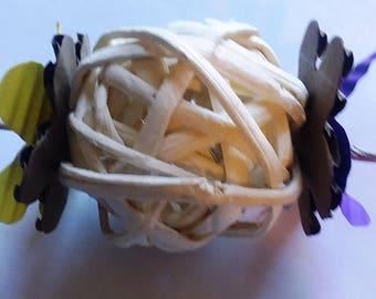 Bamboo Toss, Guinea pig, rabbit, chinchilla toss toy, bird toy