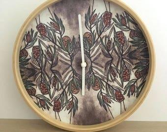 Protea Clock