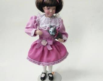 Vintage Childhood Dreams Porcelain Avon Doll