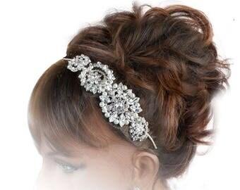 Wedding Side Tiara, Vintage Sideband, Bridal Headdress, Wedding Tiaras, Bridal Tiaras, Rhinestone Tiaras, Tiaras And Crowns, Weddings