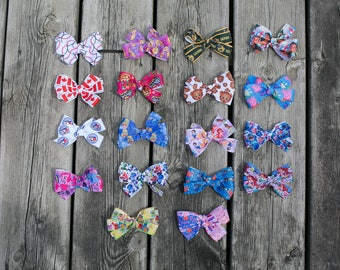 Pick Any 5 Bows, Mix & Match Hair Bows, Hair Bow Bundle, Party Favor Hair Bows, Hair Bow Gift, Special Mix and Match Price, Mix and Match