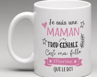 I'm too great MOM - personalized Mug
