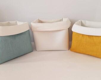 Washable wipes basket * product baby basket *.