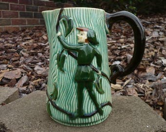 Jack and the Beanstalk Pitcher, L. Batlin and Son, Japan