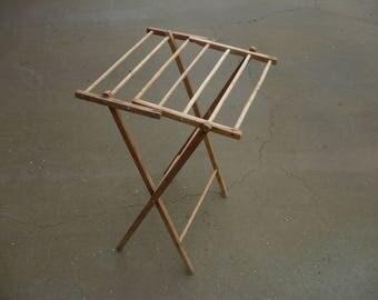 Folding Wooden Dryer Rack