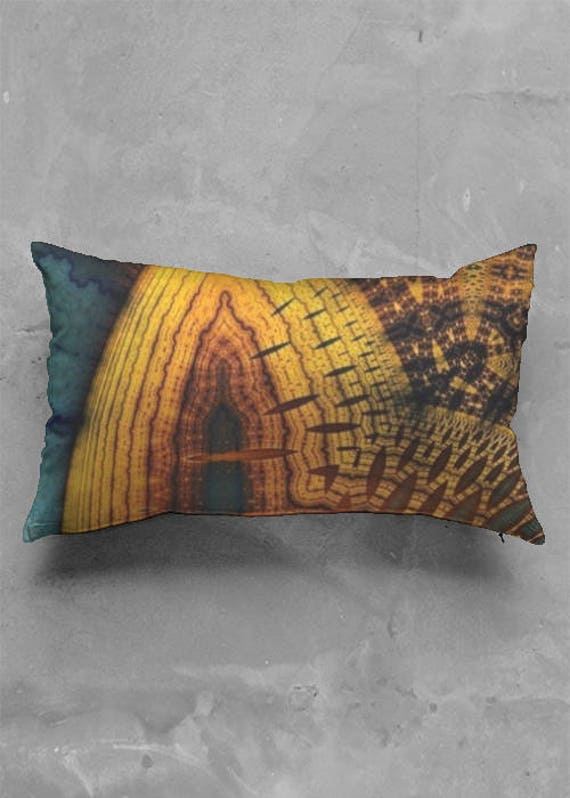 Earthy Luster Accent Pillow