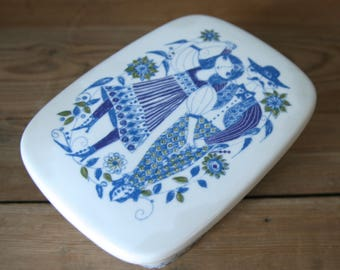 Figgjo Flint, Lotte, Norway butter dish with lid