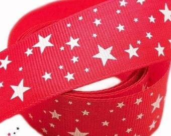Ribbon pattern stars height 25 mm