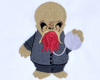 Cute Ood machine embroidery design 4x4