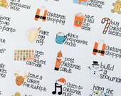 Christmas Bucket List  - set of 36 stickers perfect for Erin Condren Life Planner, Kikki K, Happy Planner or Filofax Planner