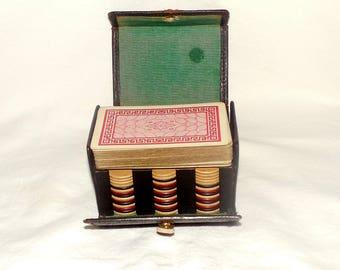 Antique/ Vintage Poker set