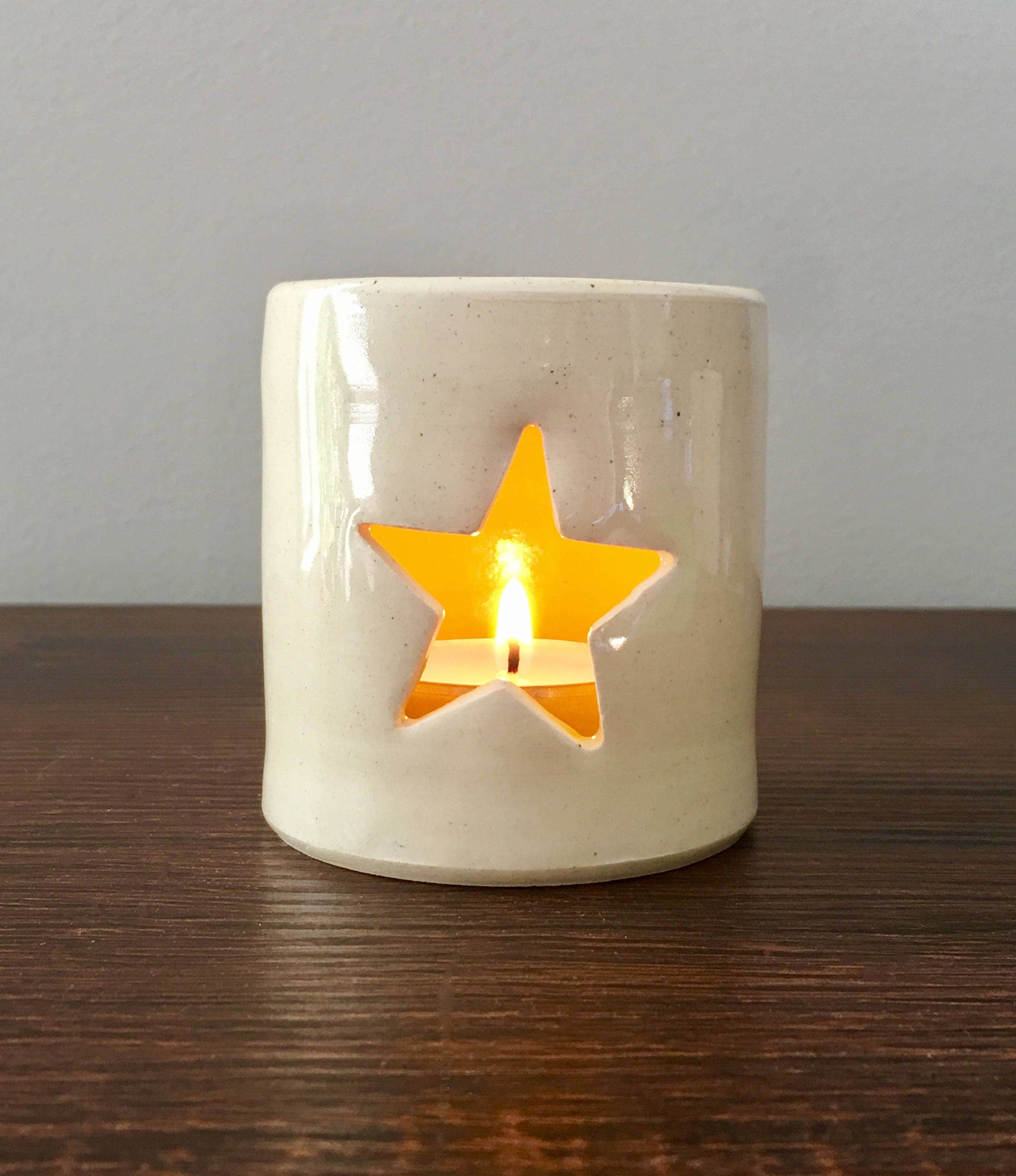 Star Candle Holder, Votive Candle Holder, Ceramic Candle Holder, Christmas  Gifts, Holiday