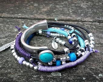 50 style one bracelet, double bracelet