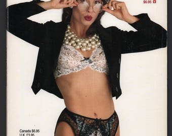 Mature Vintage Playboy Special Edition Mens Girlie Pinup Magazine : Playboy's Book Of Lingerie November/December 1996