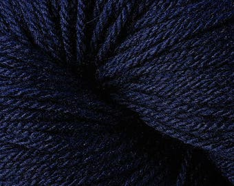 Berroco VINTAGE DK 2143 +Free Patterns 7.75+.99ea to Ship 2143 Dark Denim Wool Acrylic Nylon Yarn. Soft, Nice Definition, Washable MSRP 8.50