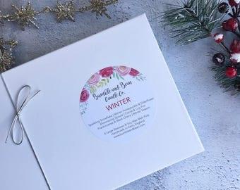 Winter Wax Melt Box | Wax Melts | Christmas Gift