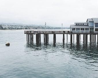 Santa Barbara Photography, Pier Photography, Pier Print, Santa Barbara Art, Beach Decor, Beach Photography, Wall Decor, Fine Art Photography