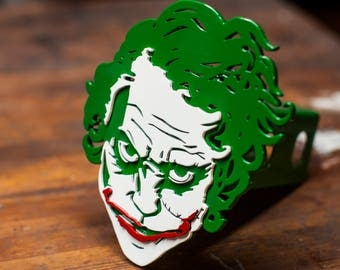 The Joker - Trailer Hitch Cover