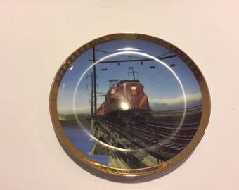 "Pennsylvania Railroad Collector Plate  ""The GG1"