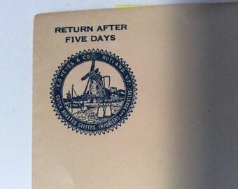 Ad cover uncancelled envelope for E.d.Keyes & Co. Rutland Vermont