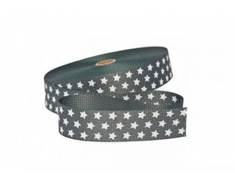 Strap with 30mm grey stars