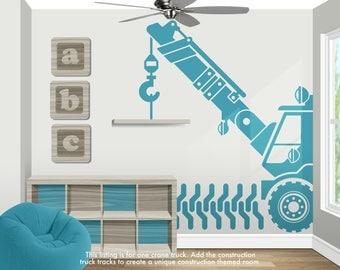 Construction Truck Decorations - Construction Wall Decor - Construction Wall Decals - Construction Party - Construction Nursery Decor