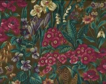 Northcott Quilting Cotton Fabric Green 126362 - 1/2 Yard
